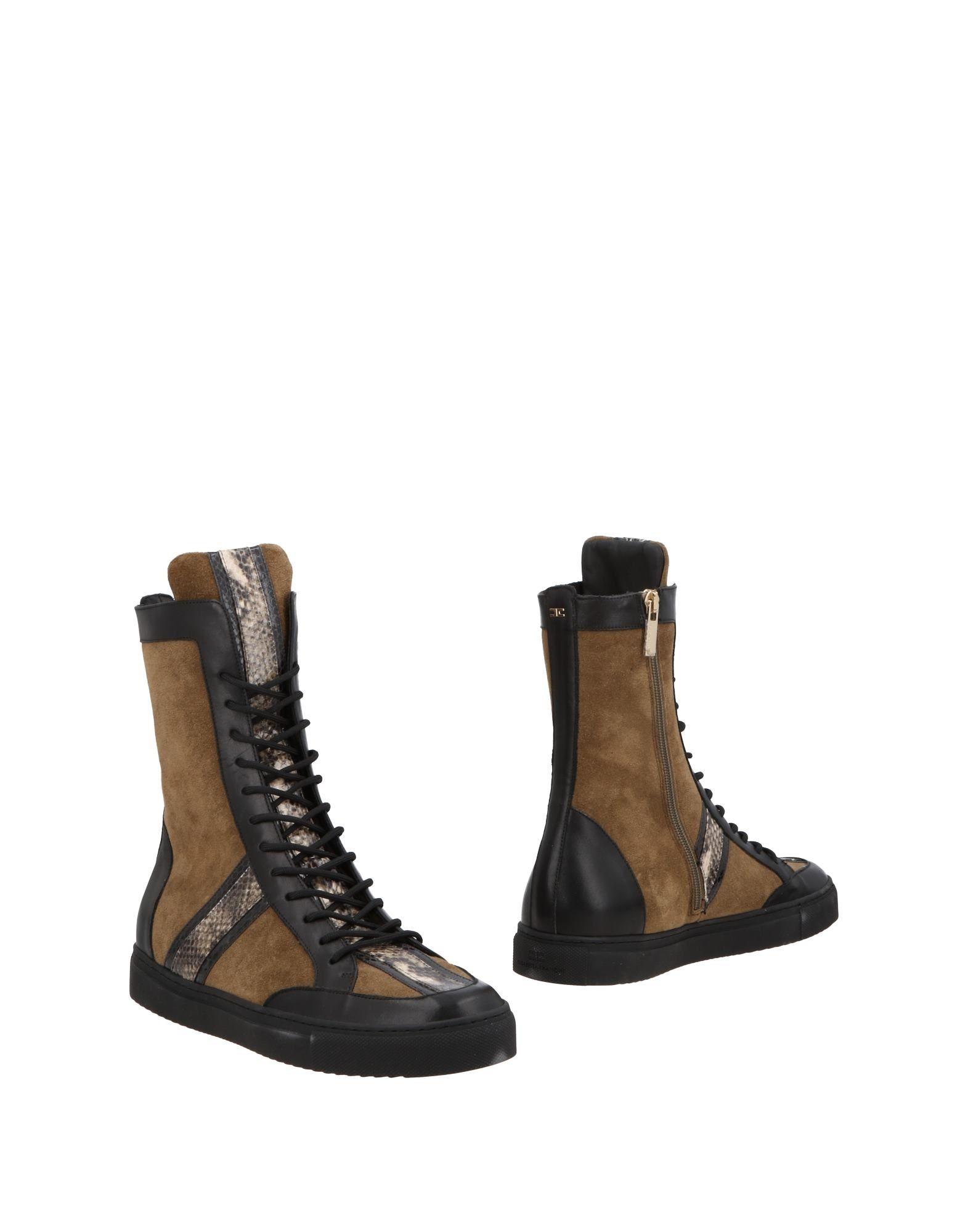 ELISABETTA FRANCHI Полусапоги и высокие ботинки elisabetta franchi кожаные полусапоги