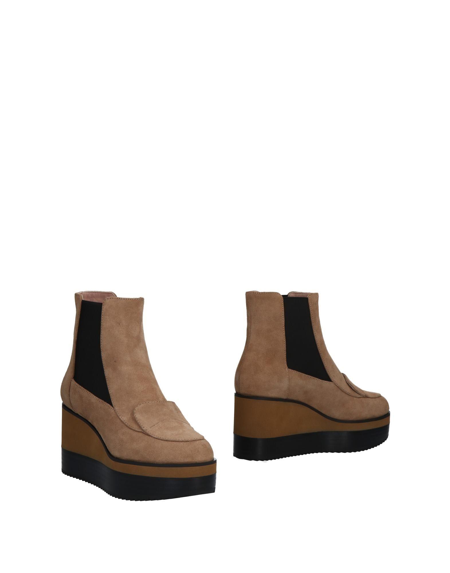 JIL SANDER NAVY Полусапоги и высокие ботинки