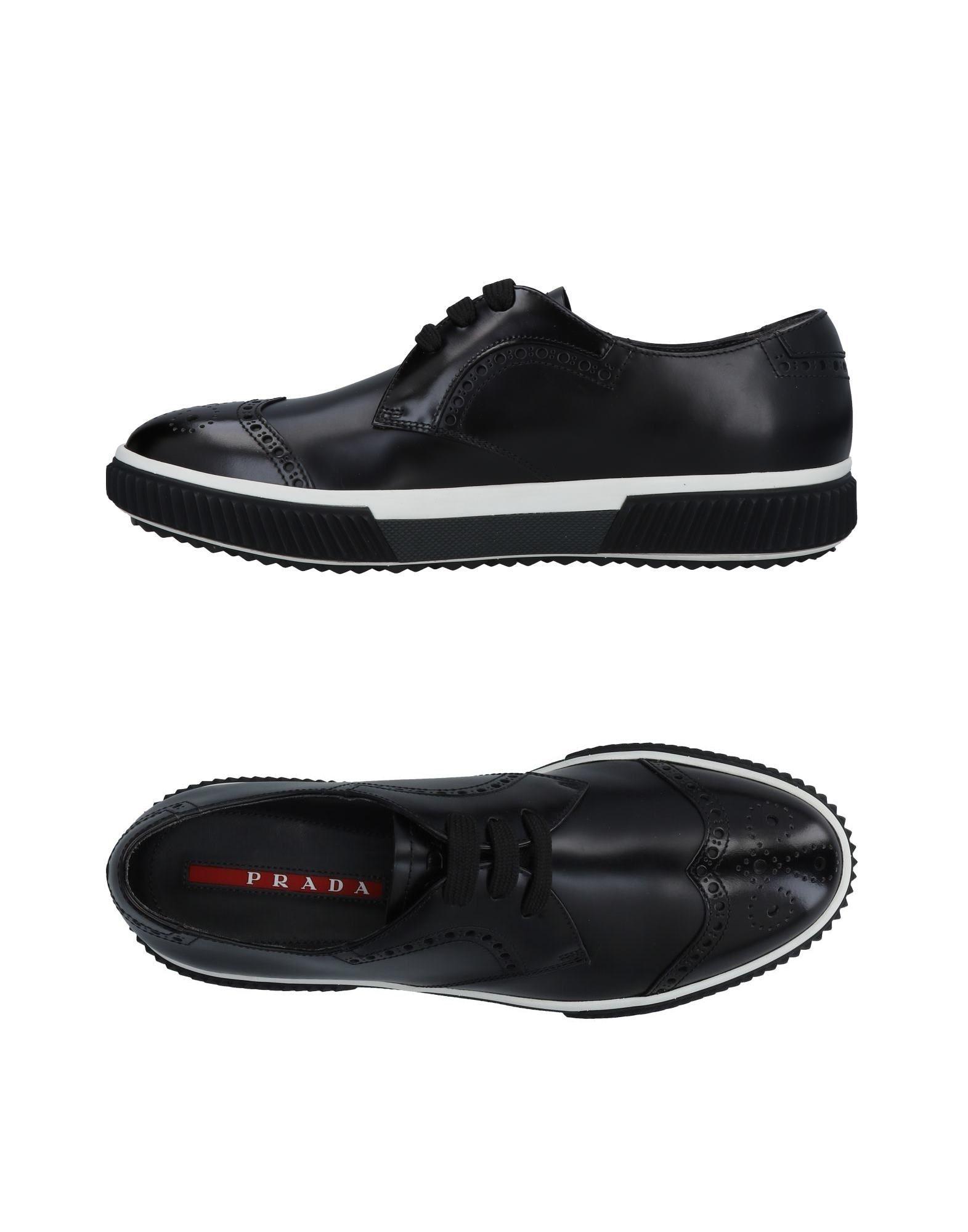 PRADA SPORT Обувь на шнурках цены онлайн