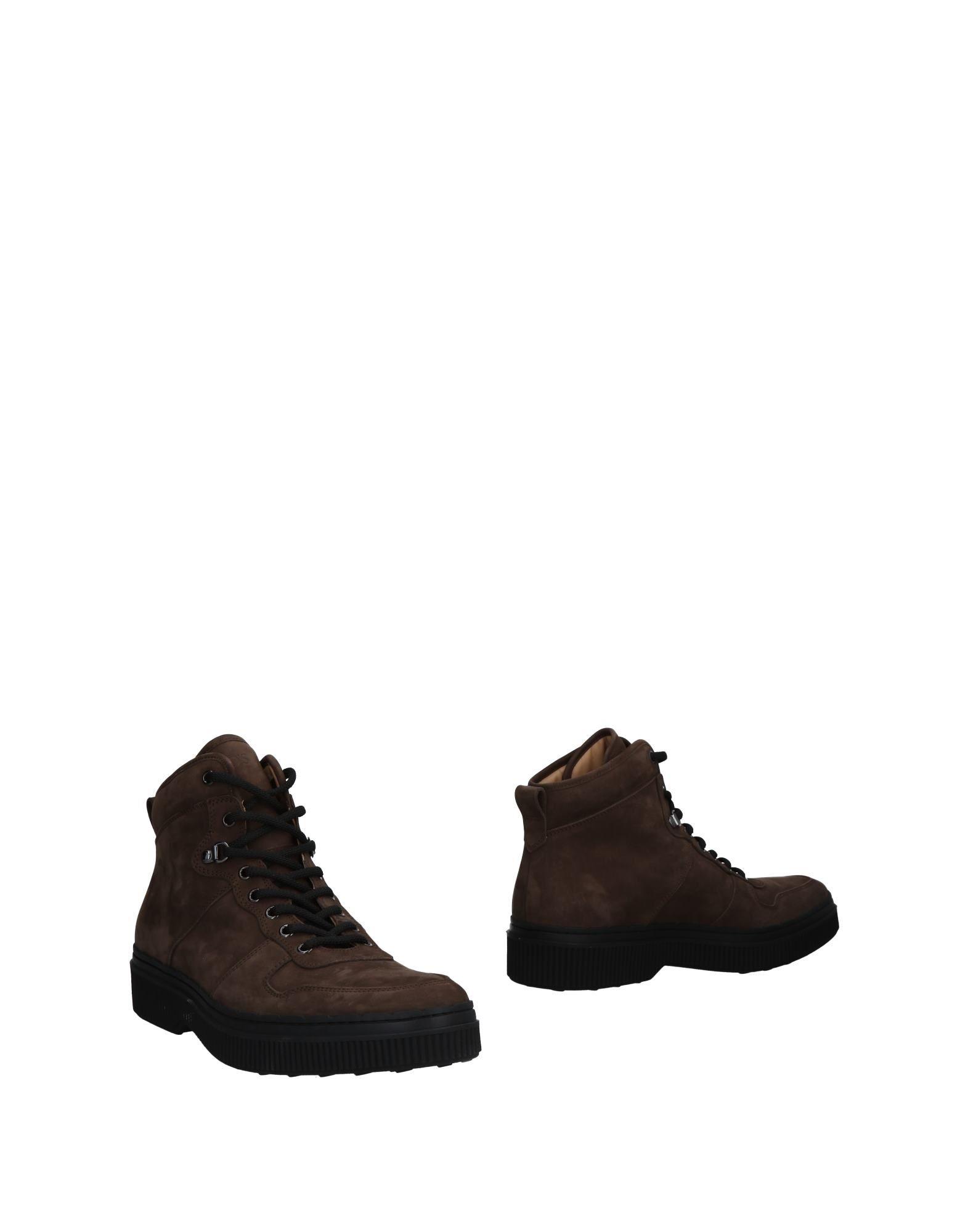 TOD'S Полусапоги и высокие ботинки ботинки swims ботинки без каблука