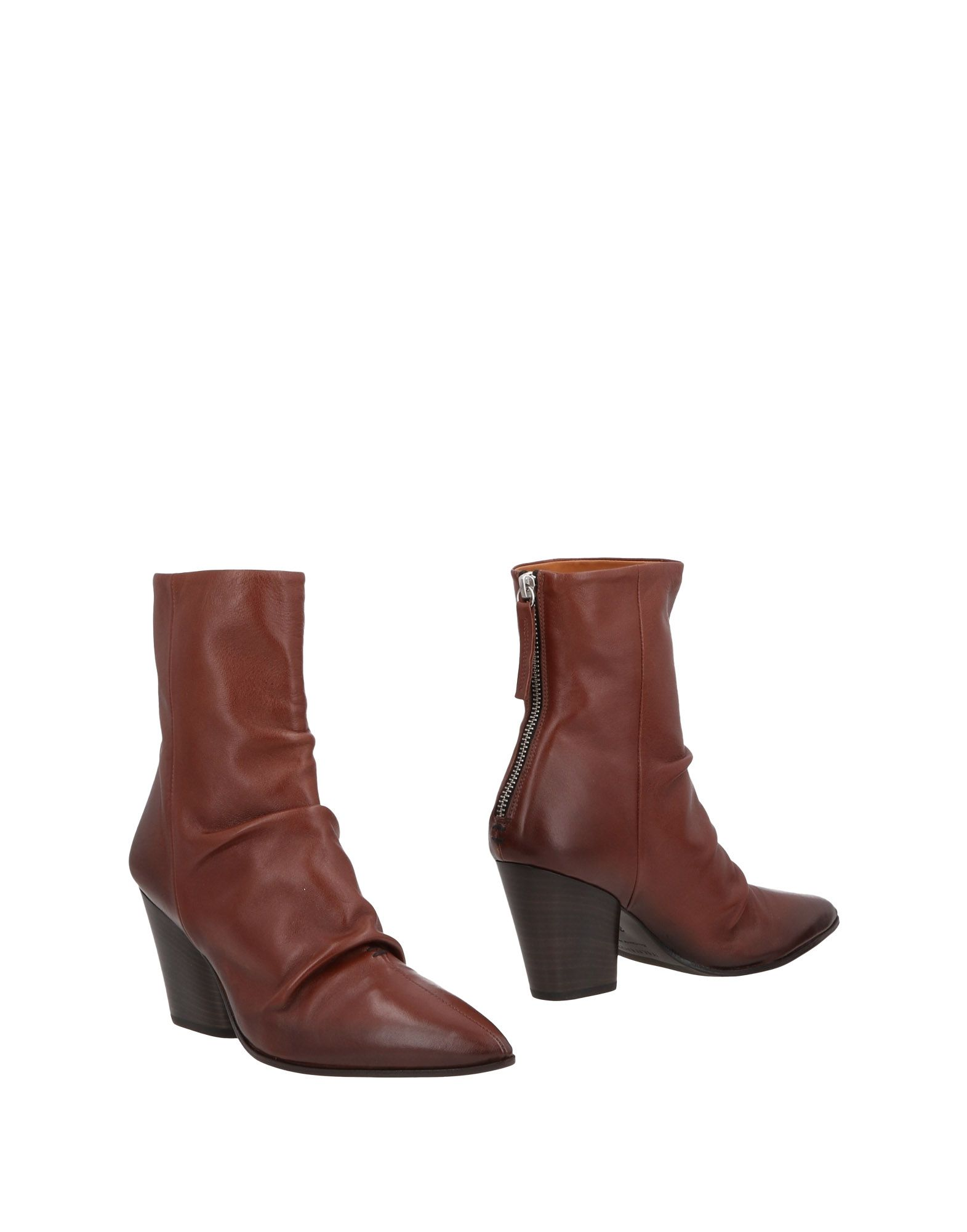 HALMANERA Ankle Boot in Brown