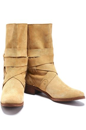 SEE BY CHLOÉ Studded suede boots