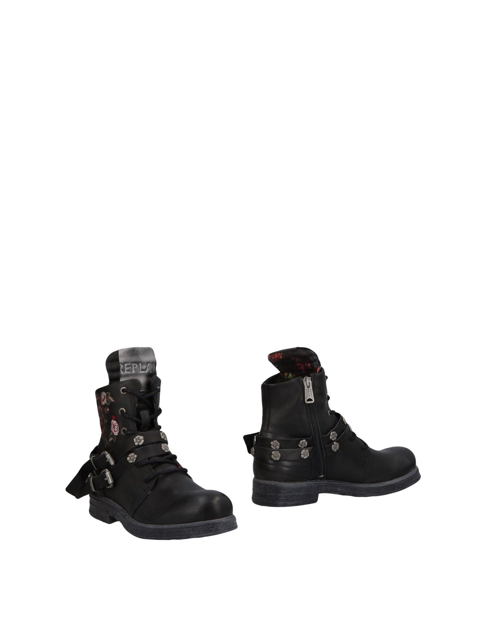 REPLAY Полусапоги и высокие ботинки ботинки swims ботинки без каблука