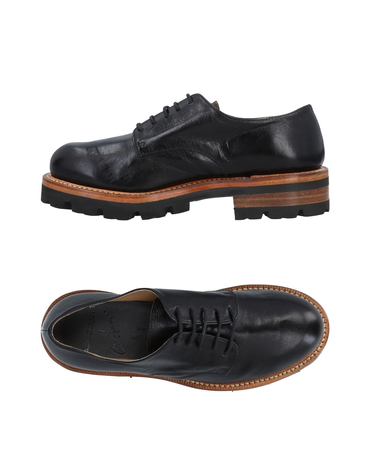CAPPELLETTI Laced Shoes in Black