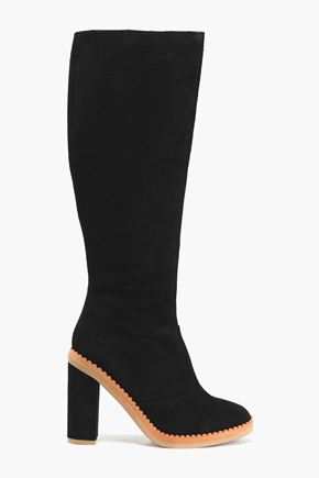 SEE BY CHLOÉ Suede knee boots