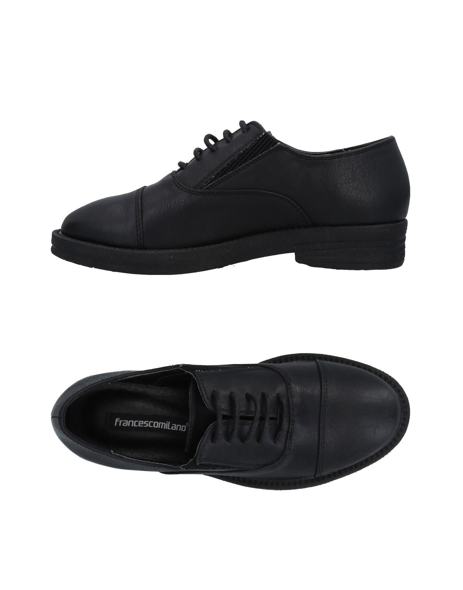FRANCESCO MILANO Обувь на шнурках цены онлайн