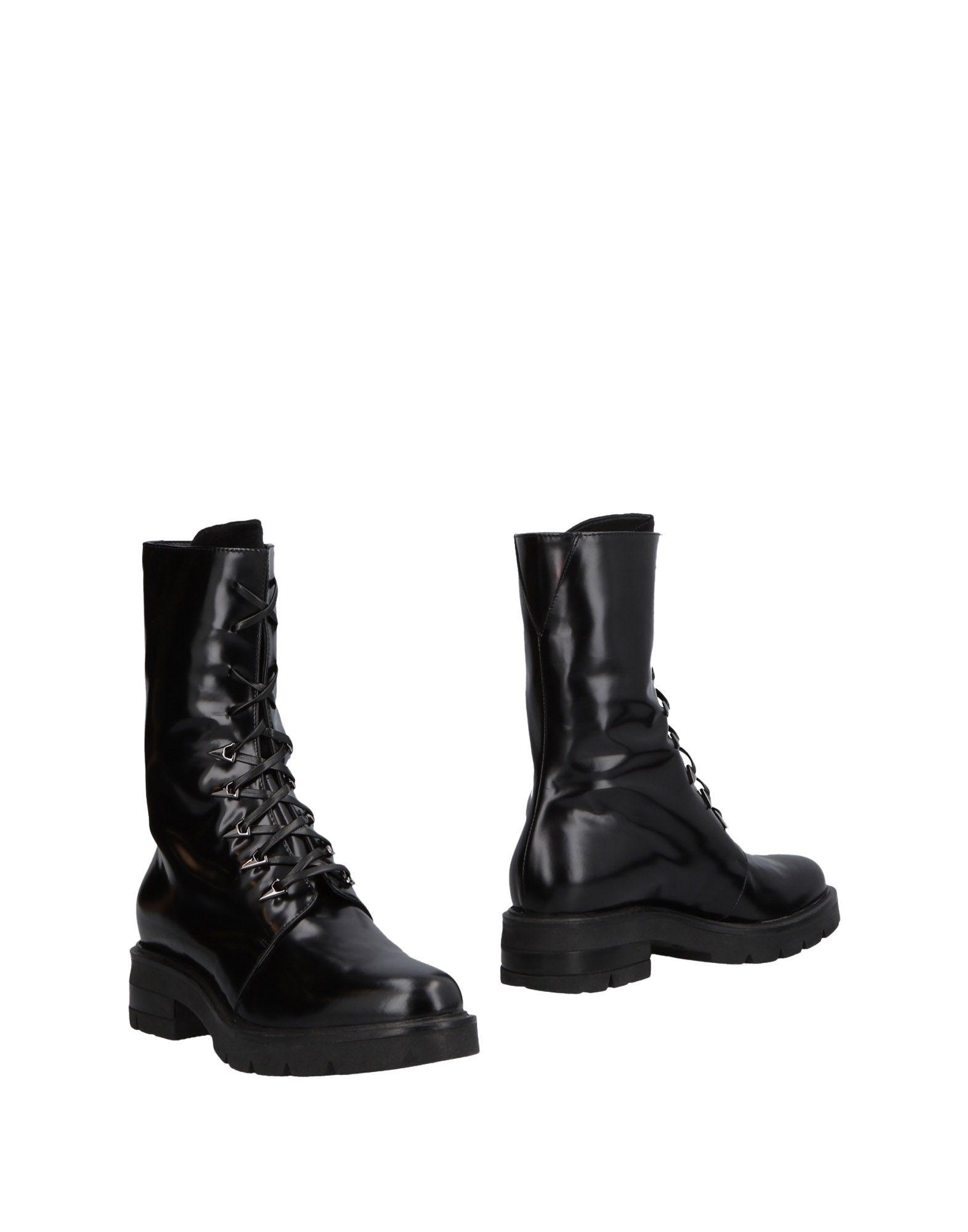 LAMPERTI MILANO Ankle Boots in Black