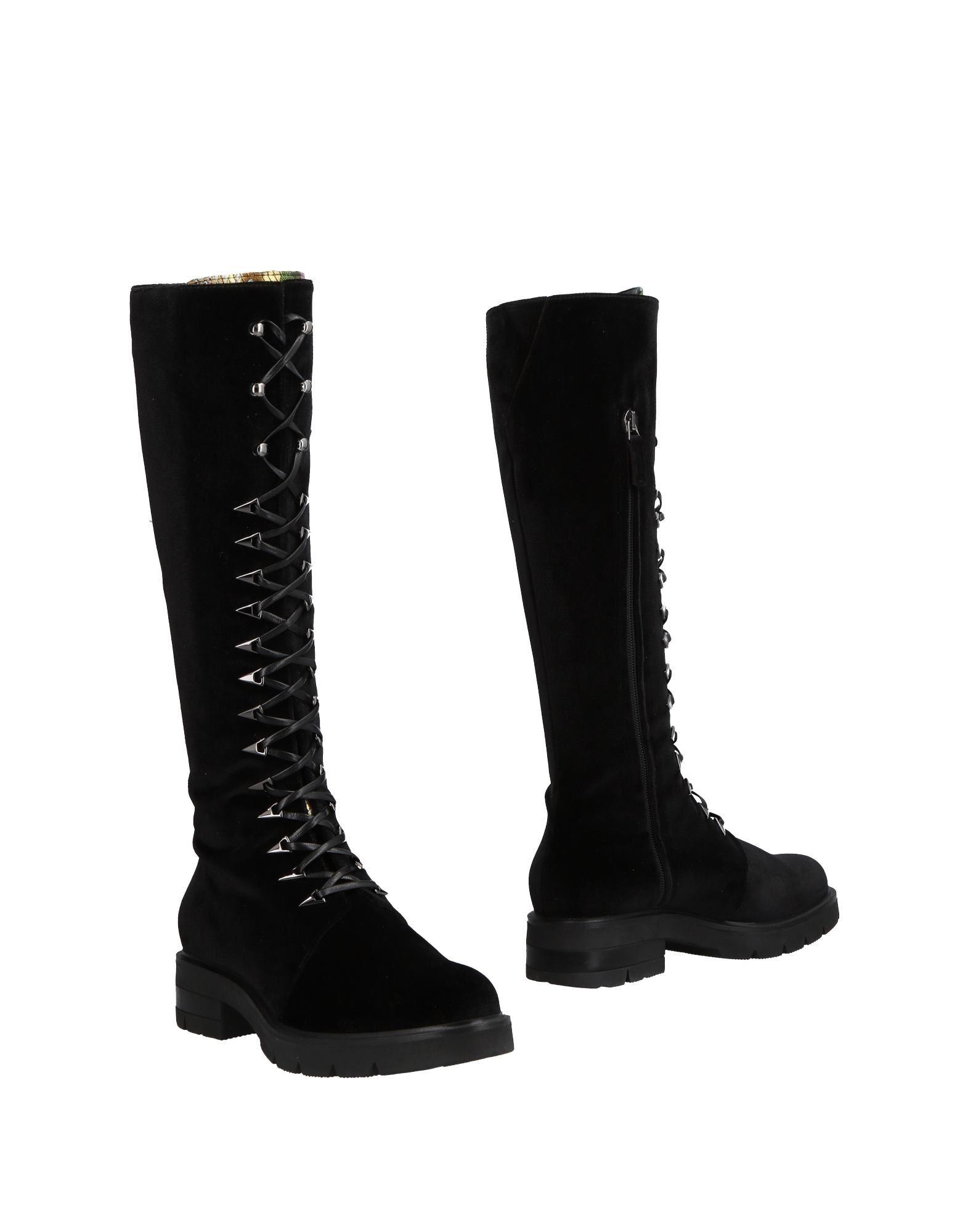 Lamperti Milano Boots In Black Modesens