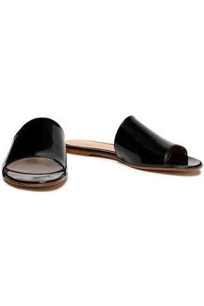 66ca94a99642 GIANVITO ROSSI Capri patent-leather slides