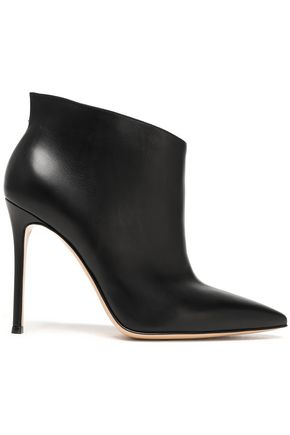 GIANVITO ROSSI Kat leather ankle boots