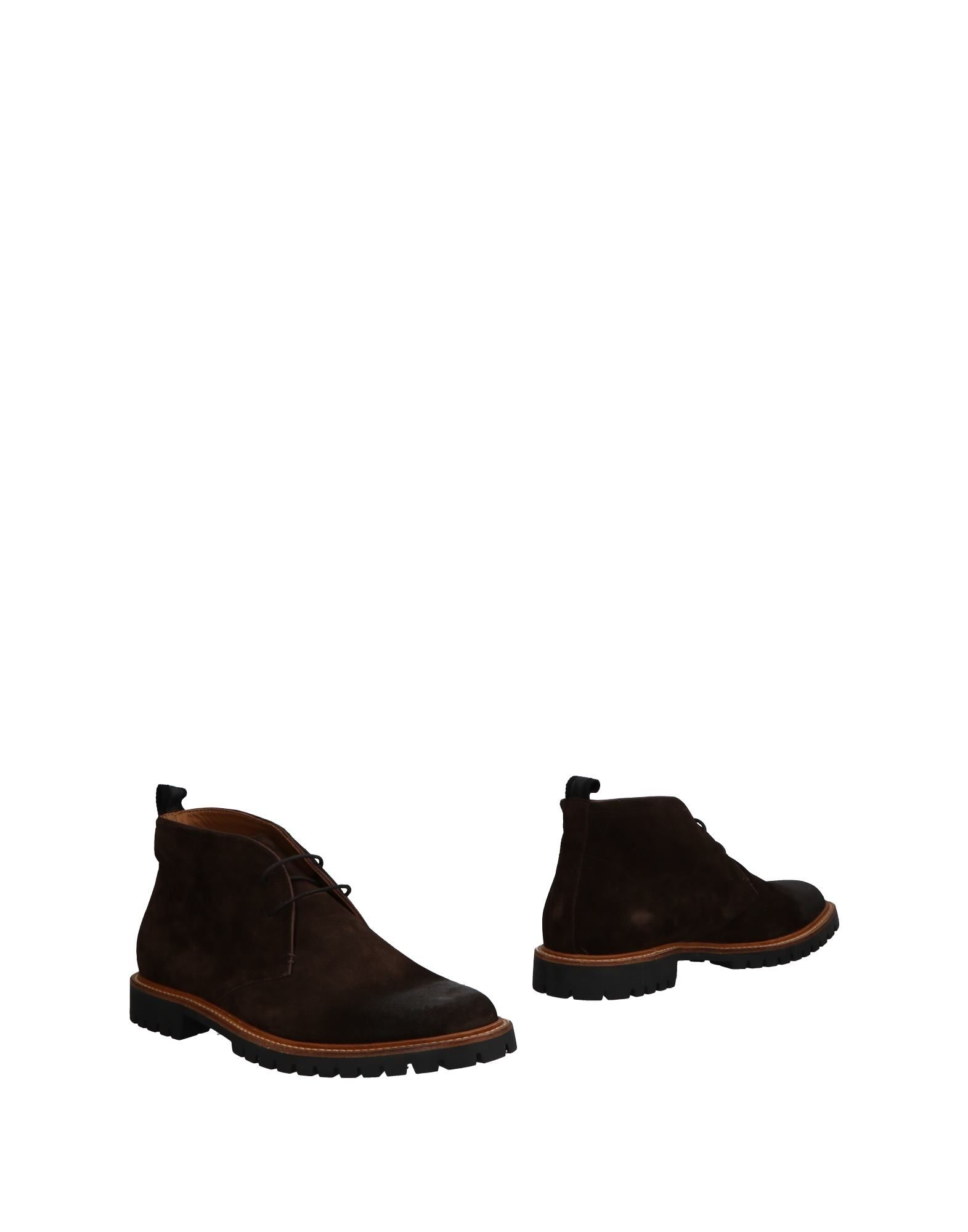 VOILE BLANCHE Ankle Boots in Dark Brown