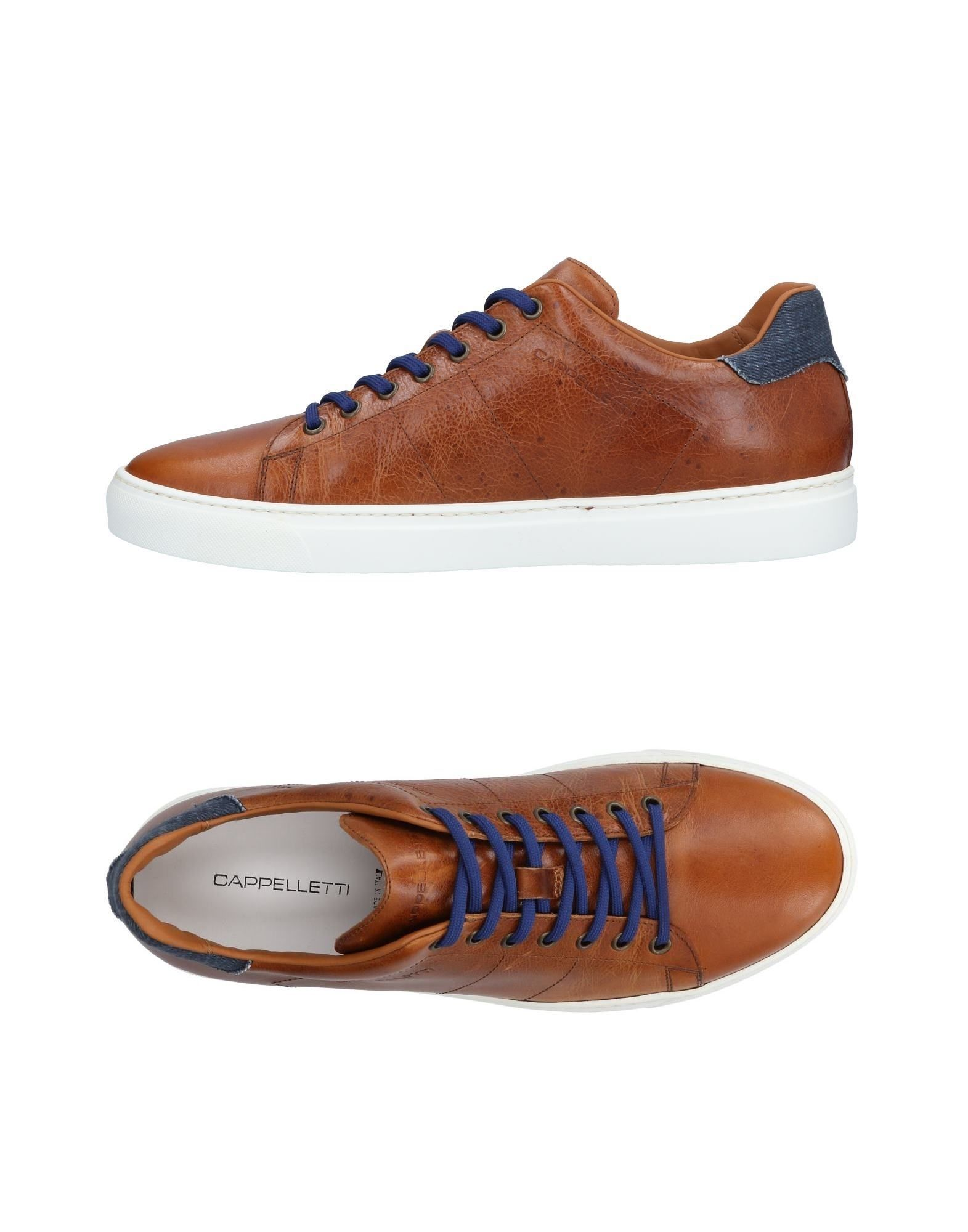 CAPPELLETTI Laced Shoes in Brown