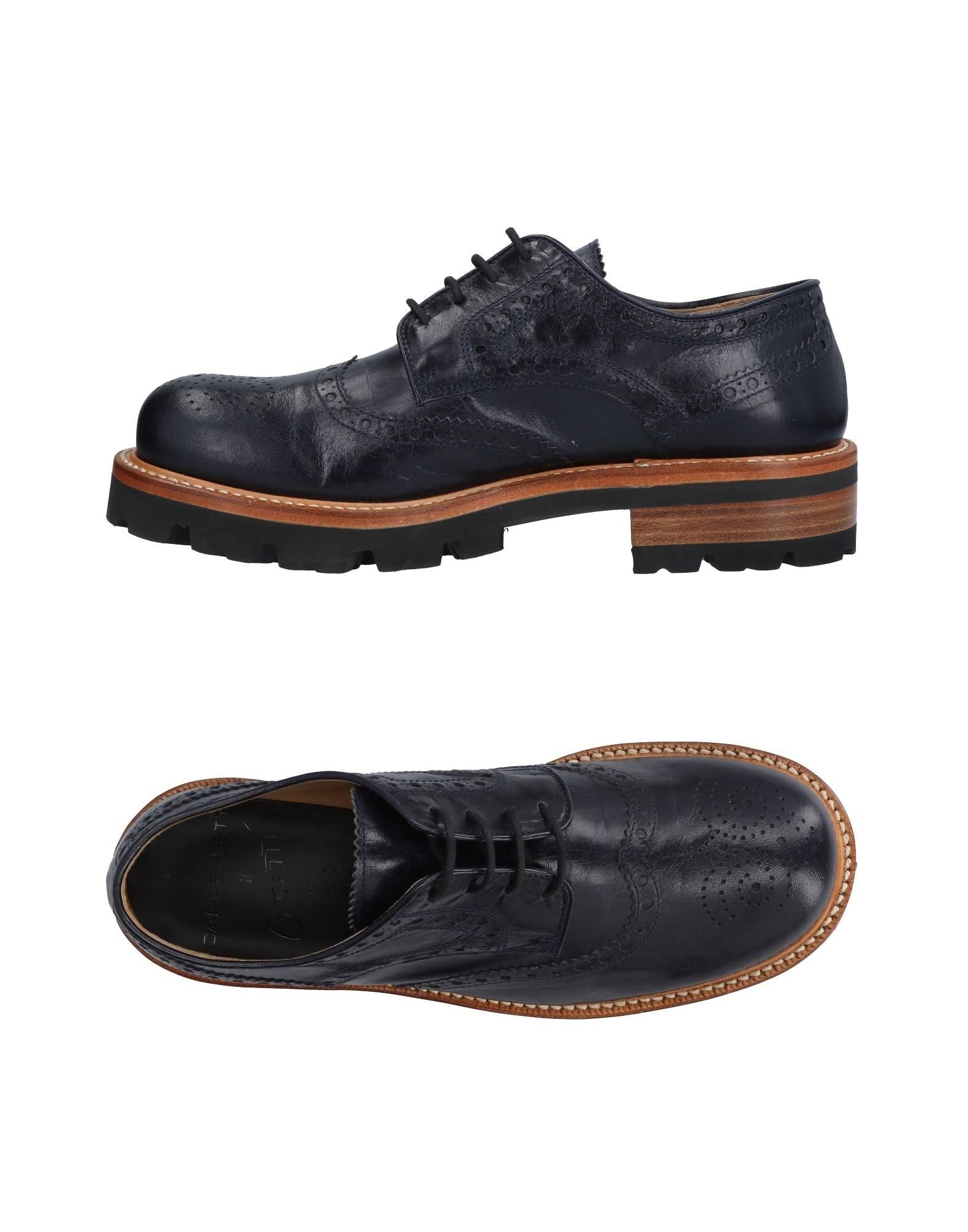 CAPPELLETTI Laced Shoes in Dark Blue