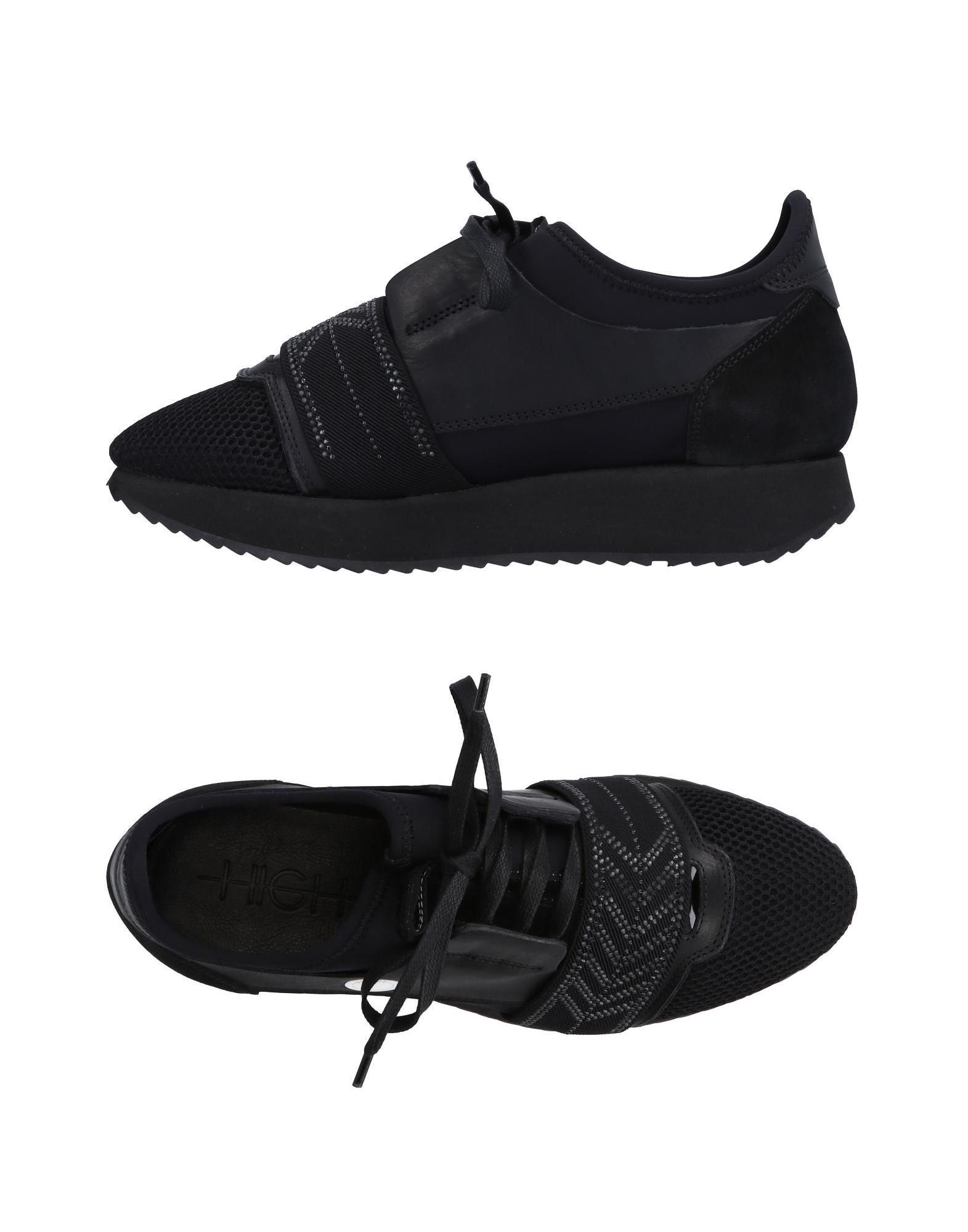HIGH Sneakers in Black
