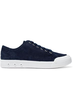 RAG & BONE Standard Issue ribbed suede sneakers