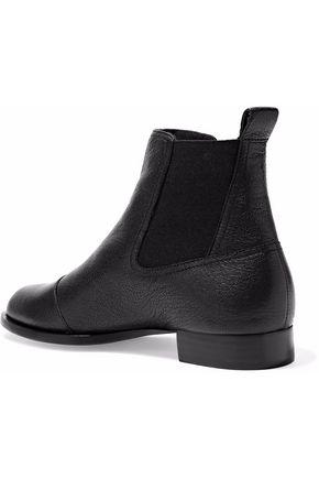 RAG & BONE Mason textured-leather ankle boots