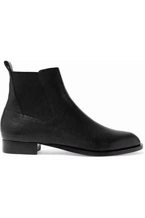 RAG & BONE Mason textured-leather ankle boots