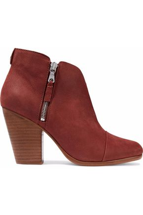 RAG & BONE Margot nubuck ankle boots