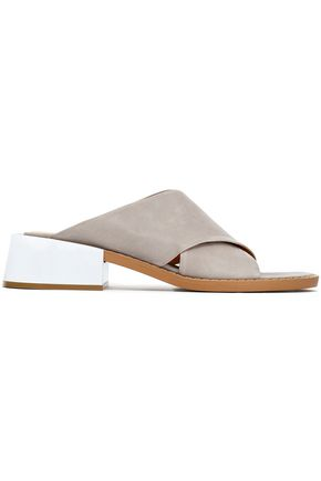 MM6 by MAISON MARGIELA Leather mules