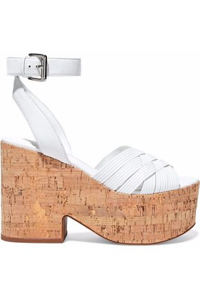 SIGERSON MORRISON Becca leather platform sandals