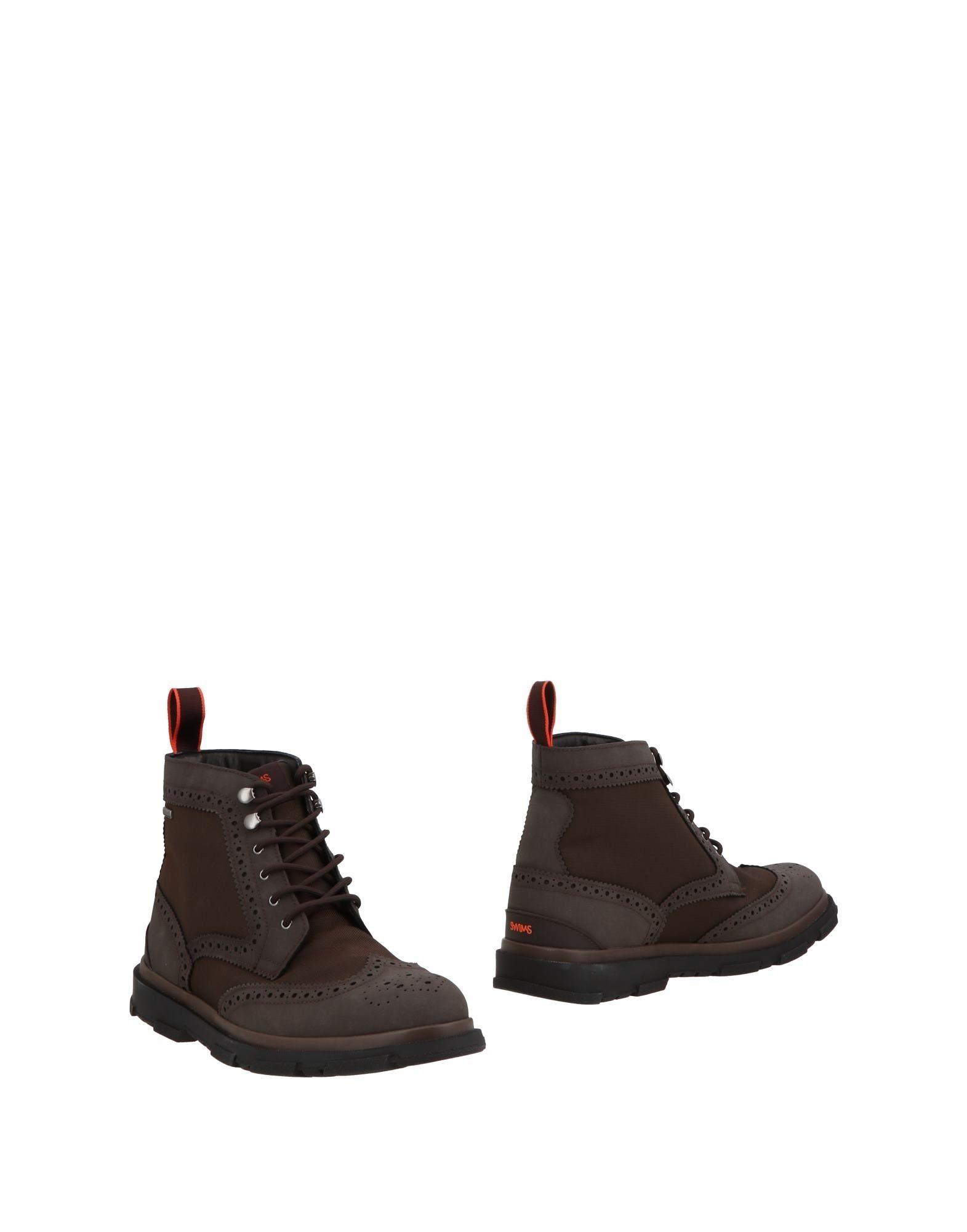 SWIMS Полусапоги и высокие ботинки ботинки swims ботинки без каблука