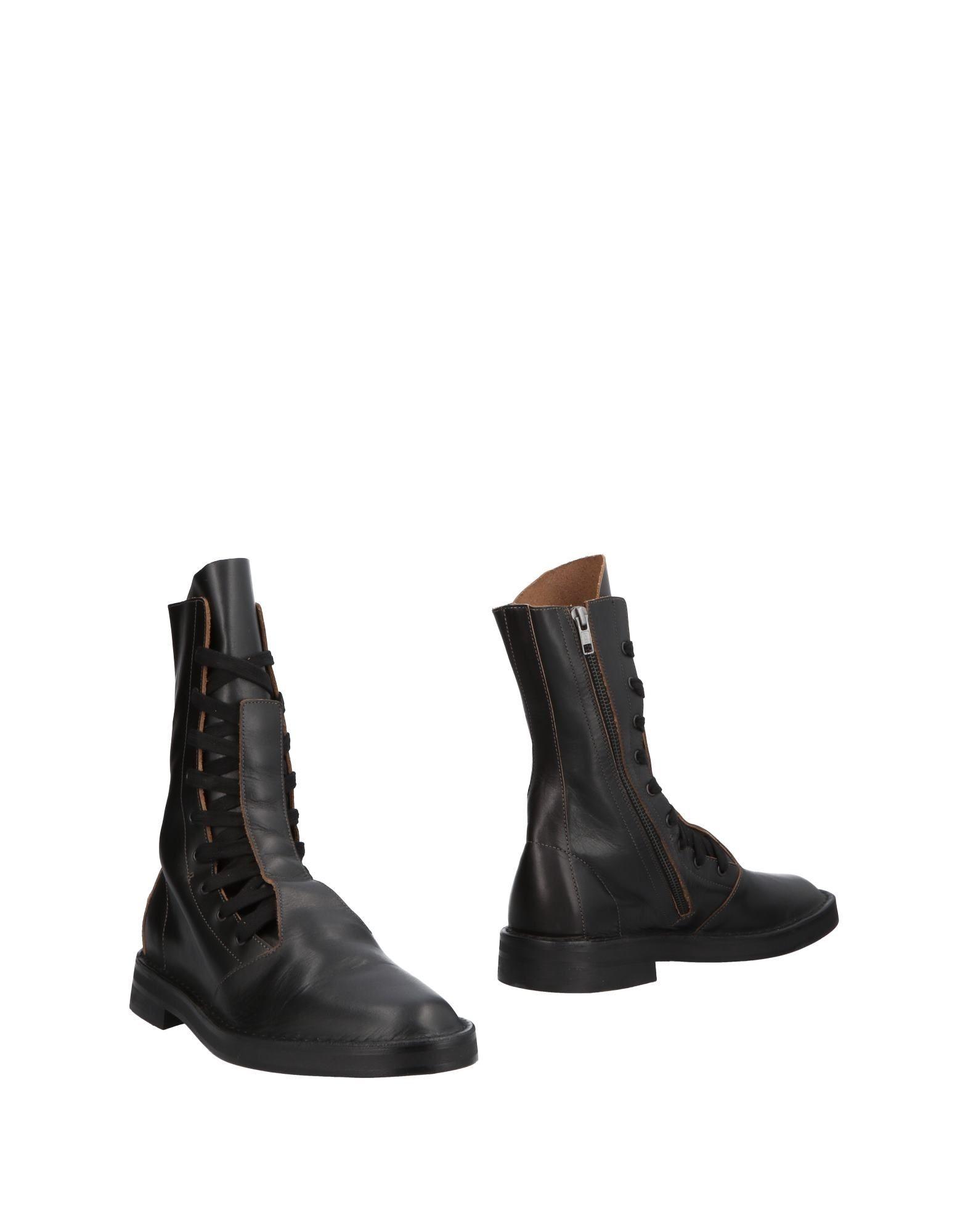 《送料無料》ANN DEMEULEMEESTER メンズ ブーツ ブラック 41 革