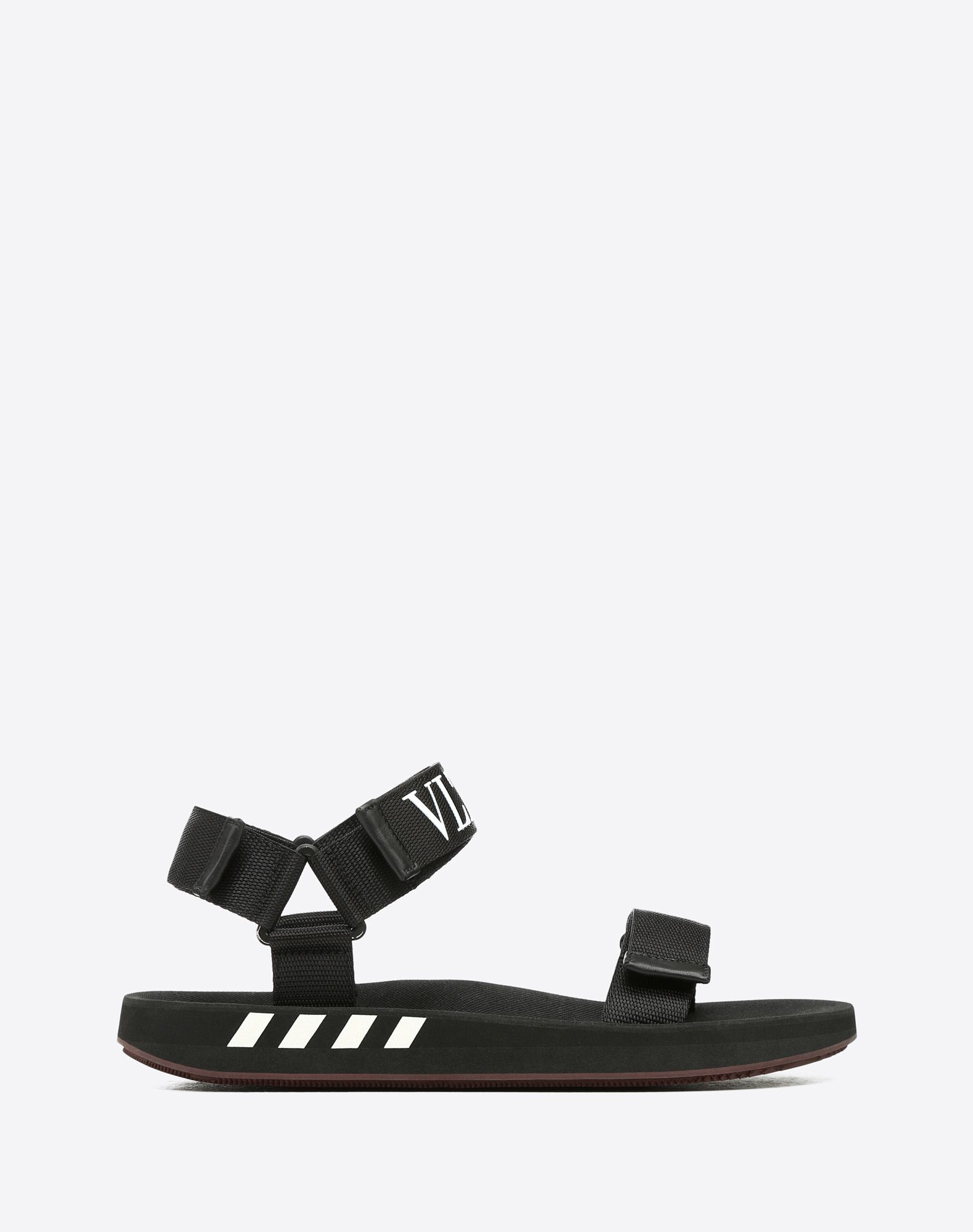 NAPPA LEATHER SANDAL WITH VLTN BAND