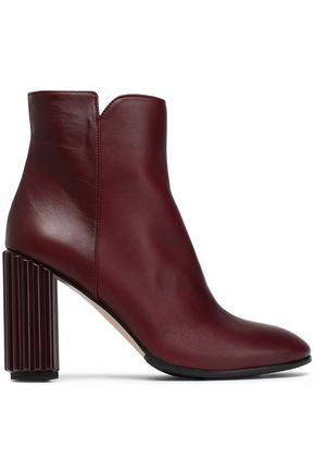 Kayla Leather Ankle Boots by Iris & Ink