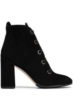 IRIS & INK Bea suede ankle boots