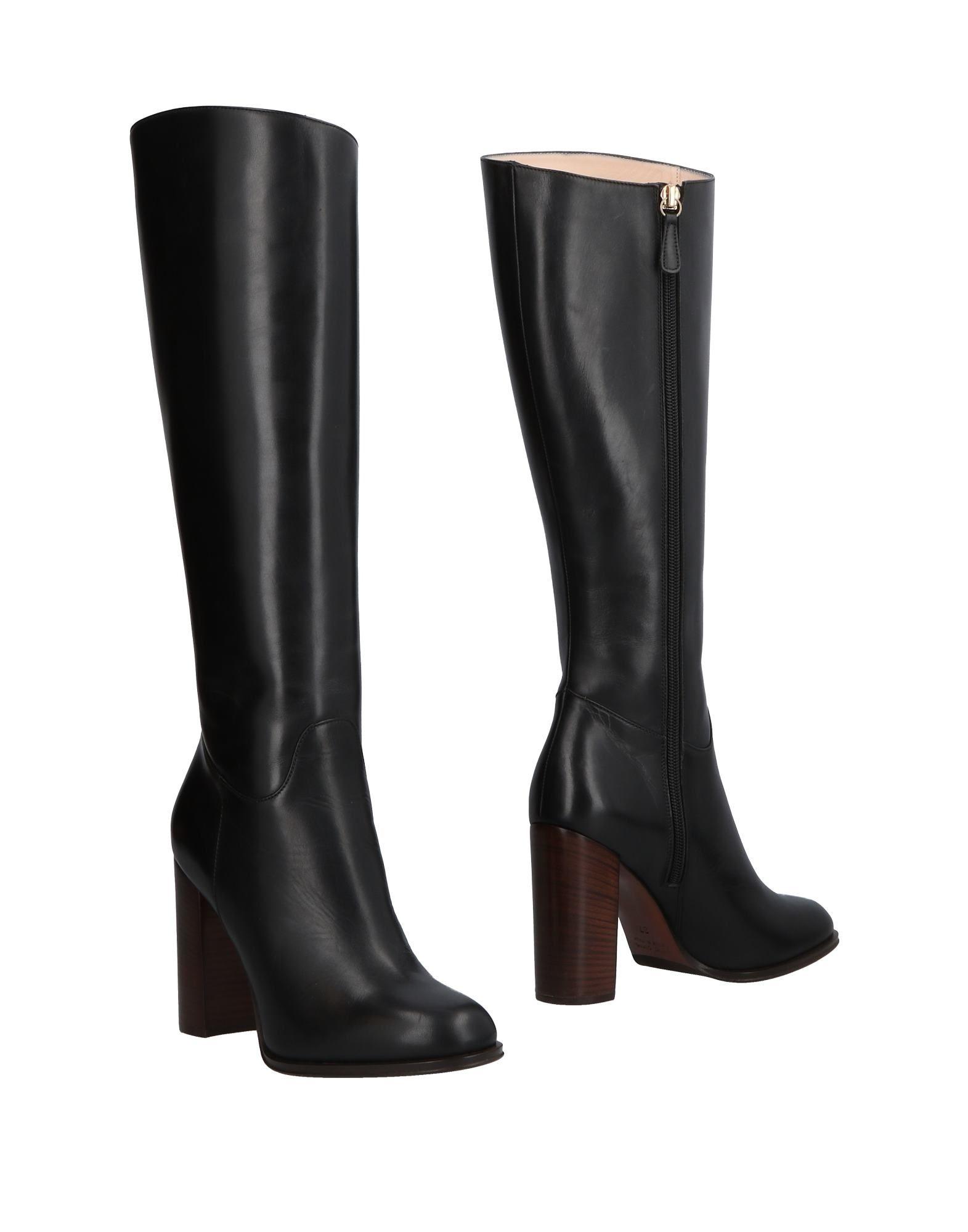LELLA BALDI Boots in Black