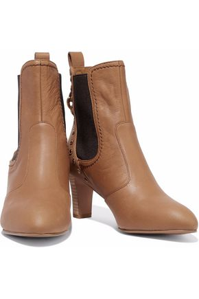 CHLOÉ boots leather SEE Dasha textured ankle BY studded HxpqUw