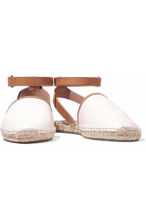 RED(V) Leather espadrille sandals