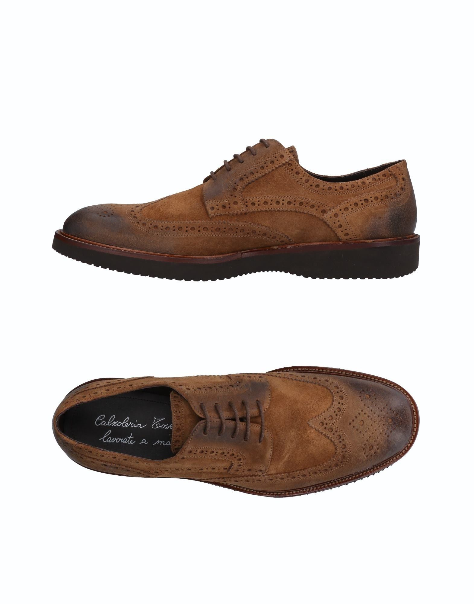 CALZOLERIA TOSCANA Laced Shoes in Brown