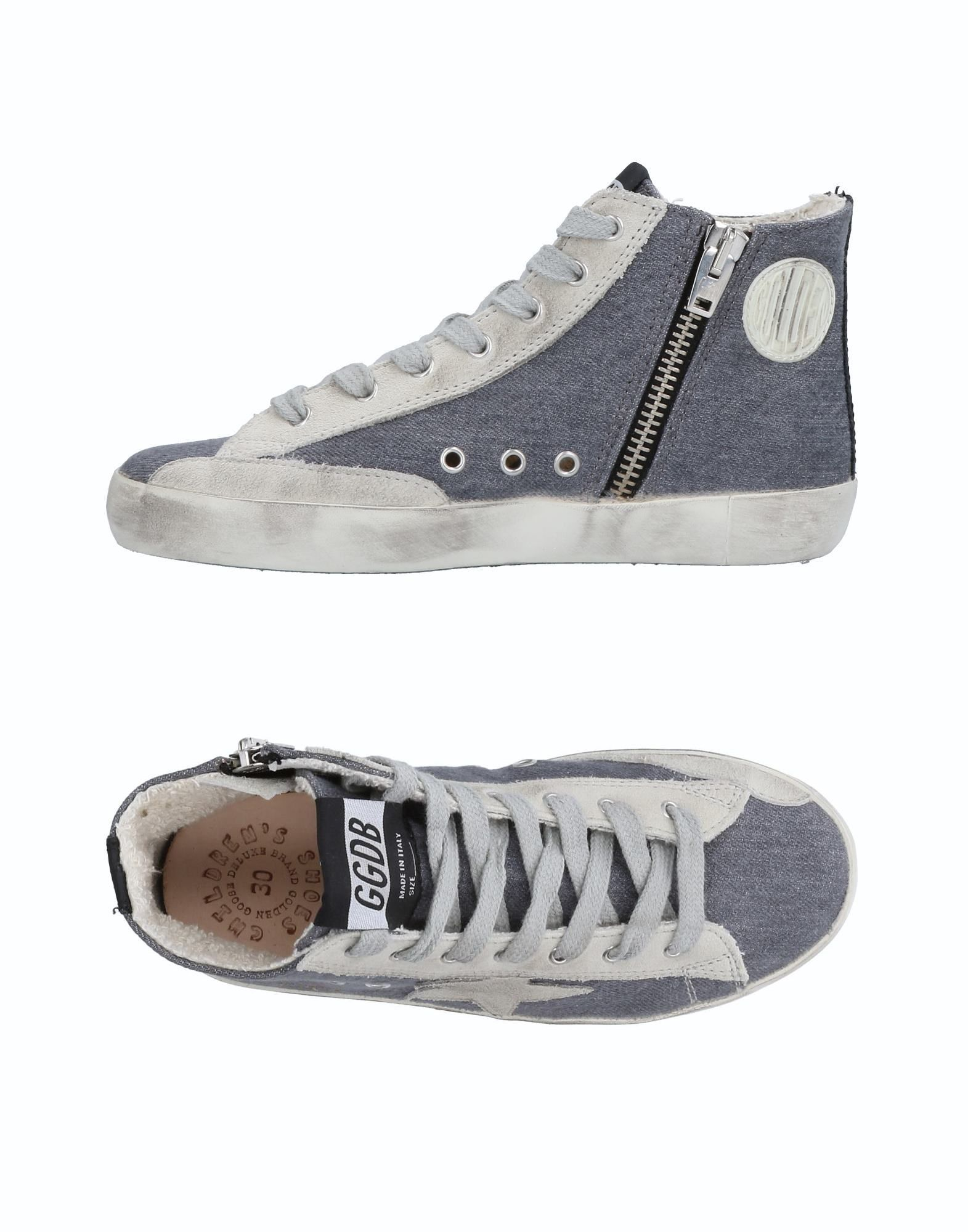 e12673a512be2 Best Golden Goose Deluxe Brand Footwear High-tops   Sneakers Slate Blue