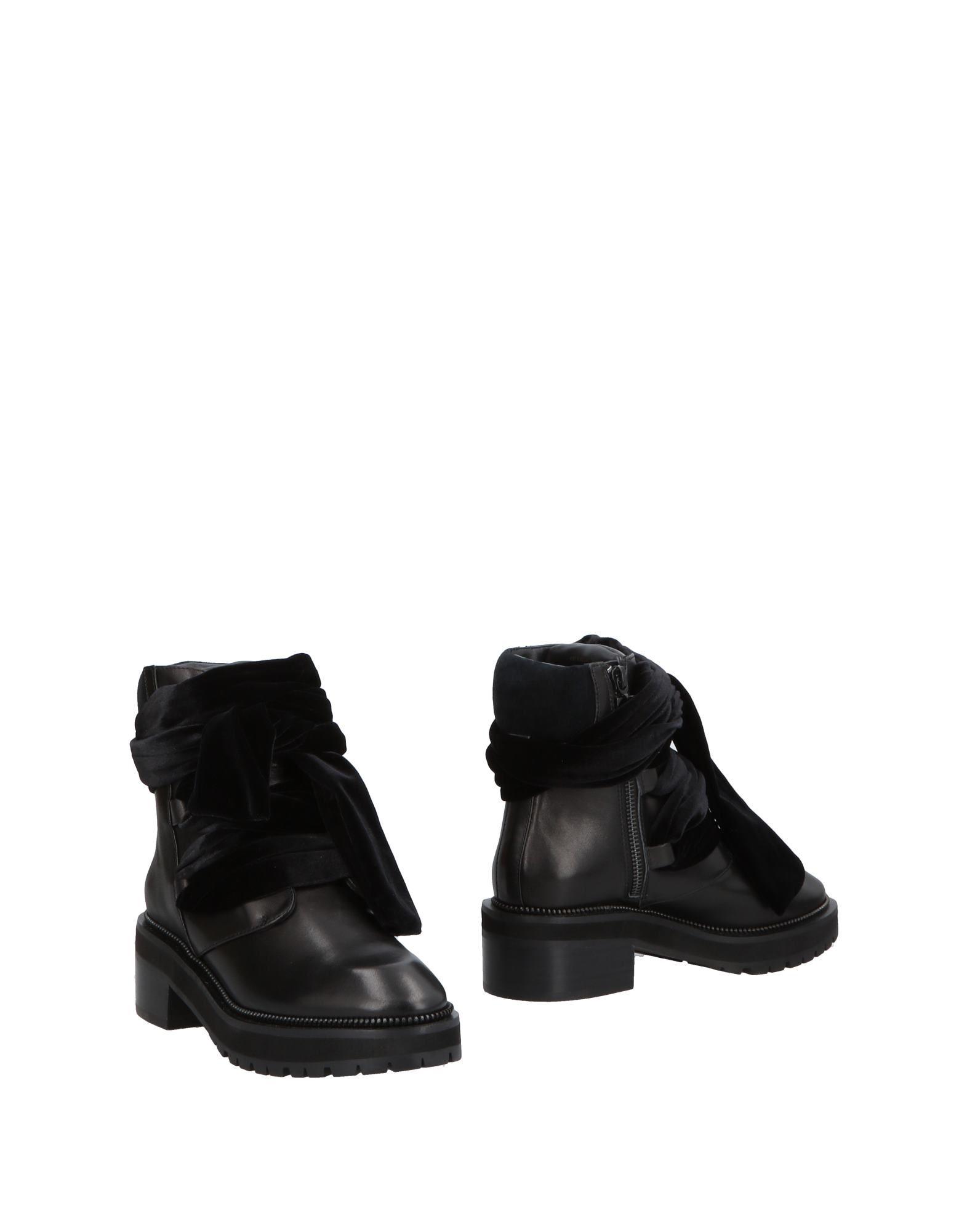 《送料無料》KAT MACONIE レディース ショートブーツ ブラック 3 革 100% / 紡績繊維