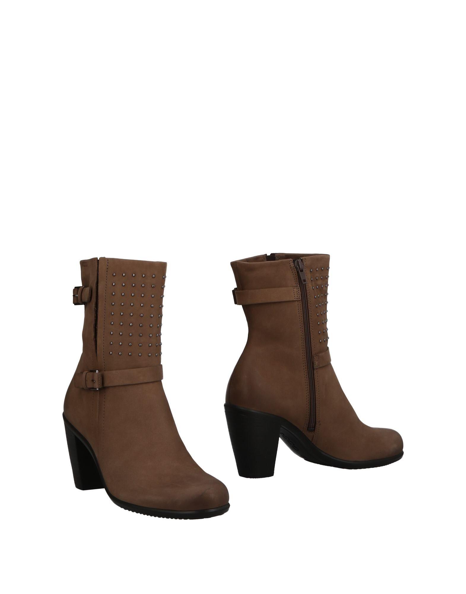 где купить ECCO® Полусапоги и высокие ботинки по лучшей цене