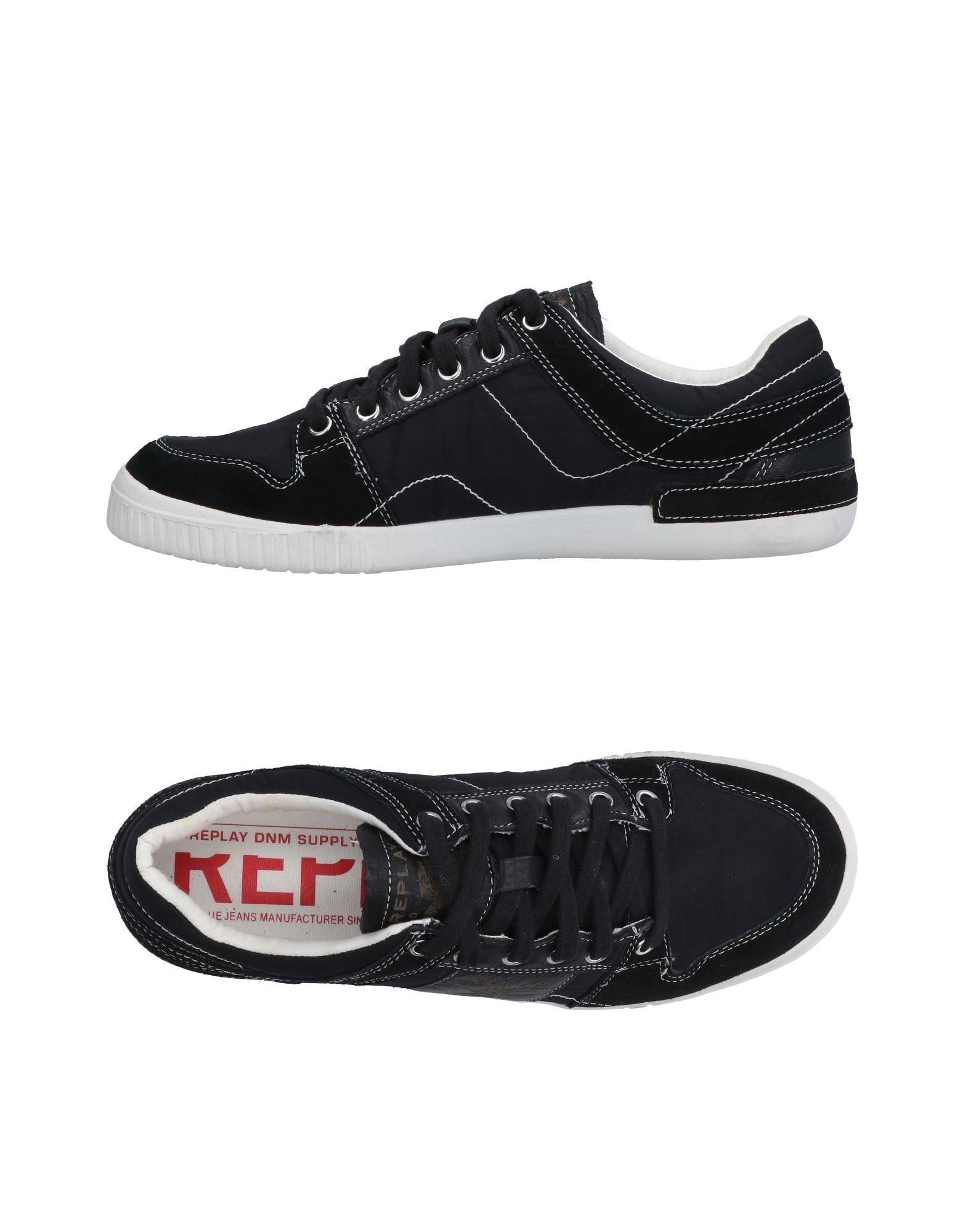 REPLAY Sneakers in Black