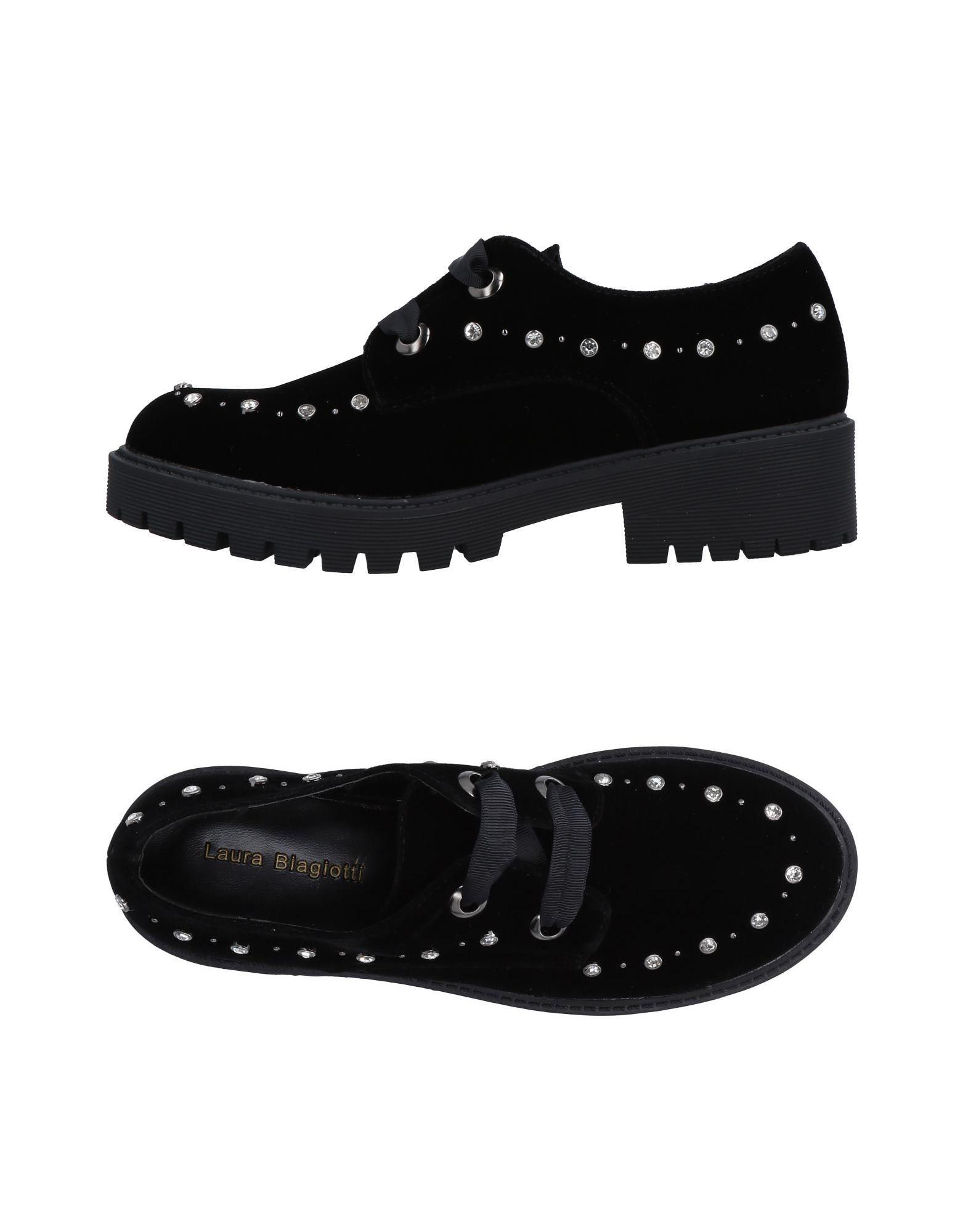 LAURA BIAGIOTTI Обувь на шнурках цены онлайн