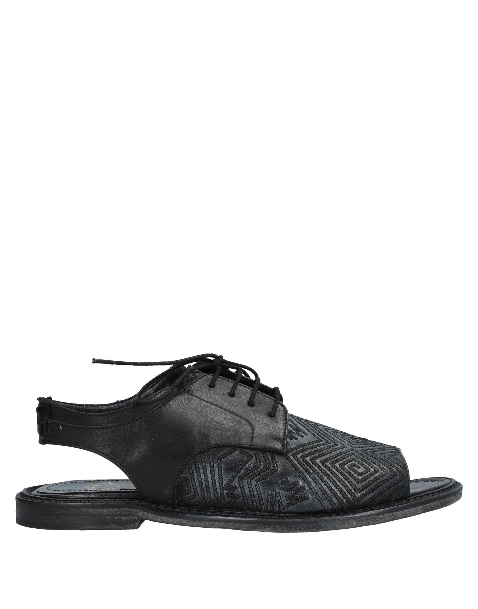 LE RUEMARCEL Sandals in Steel Grey
