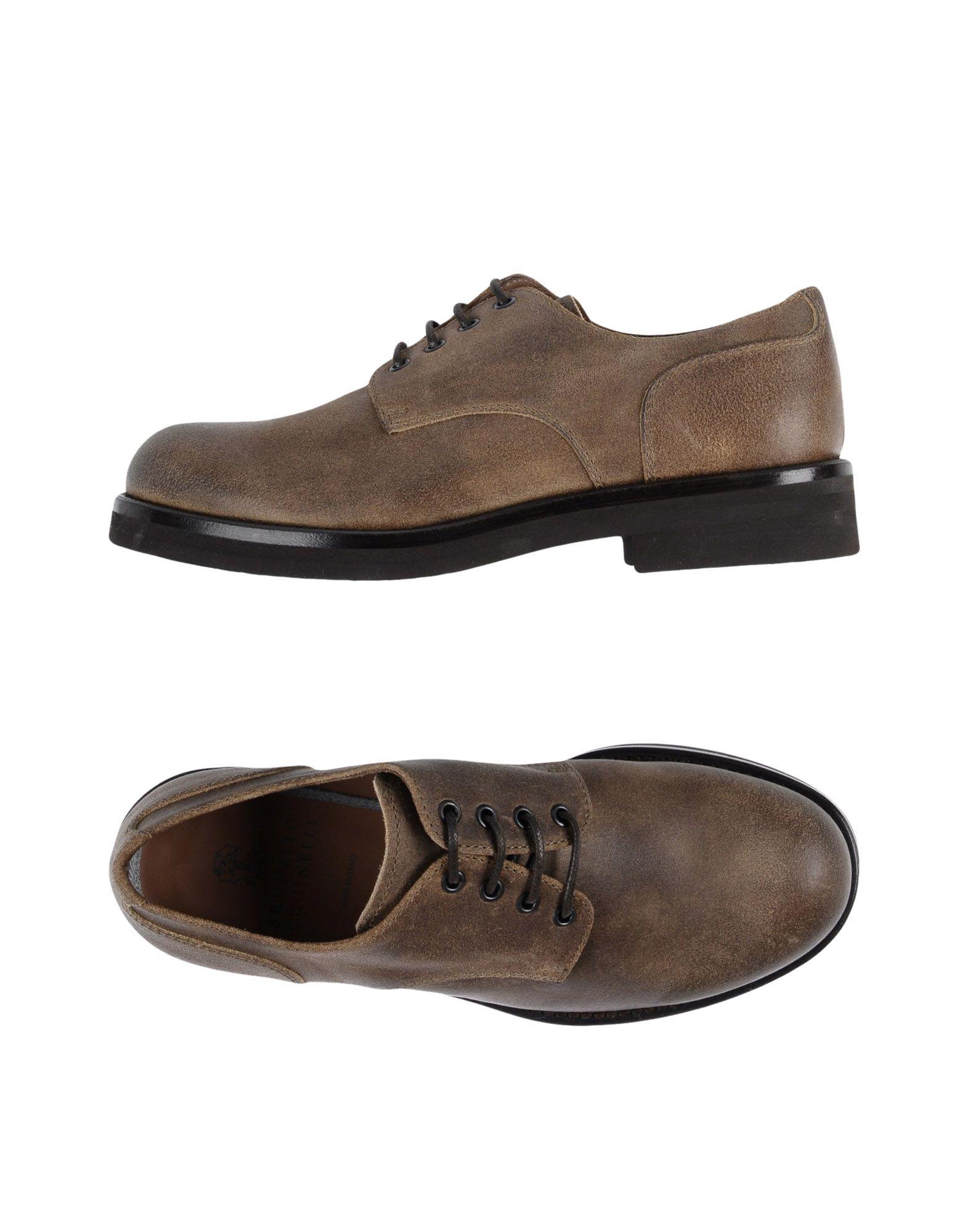 BRUNELLO CUCINELLI Обувь на шнурках первый внутри обувь обувь обувь обувь обувь обувь обувь обувь обувь 8a2549 мужская армия green 40 метров