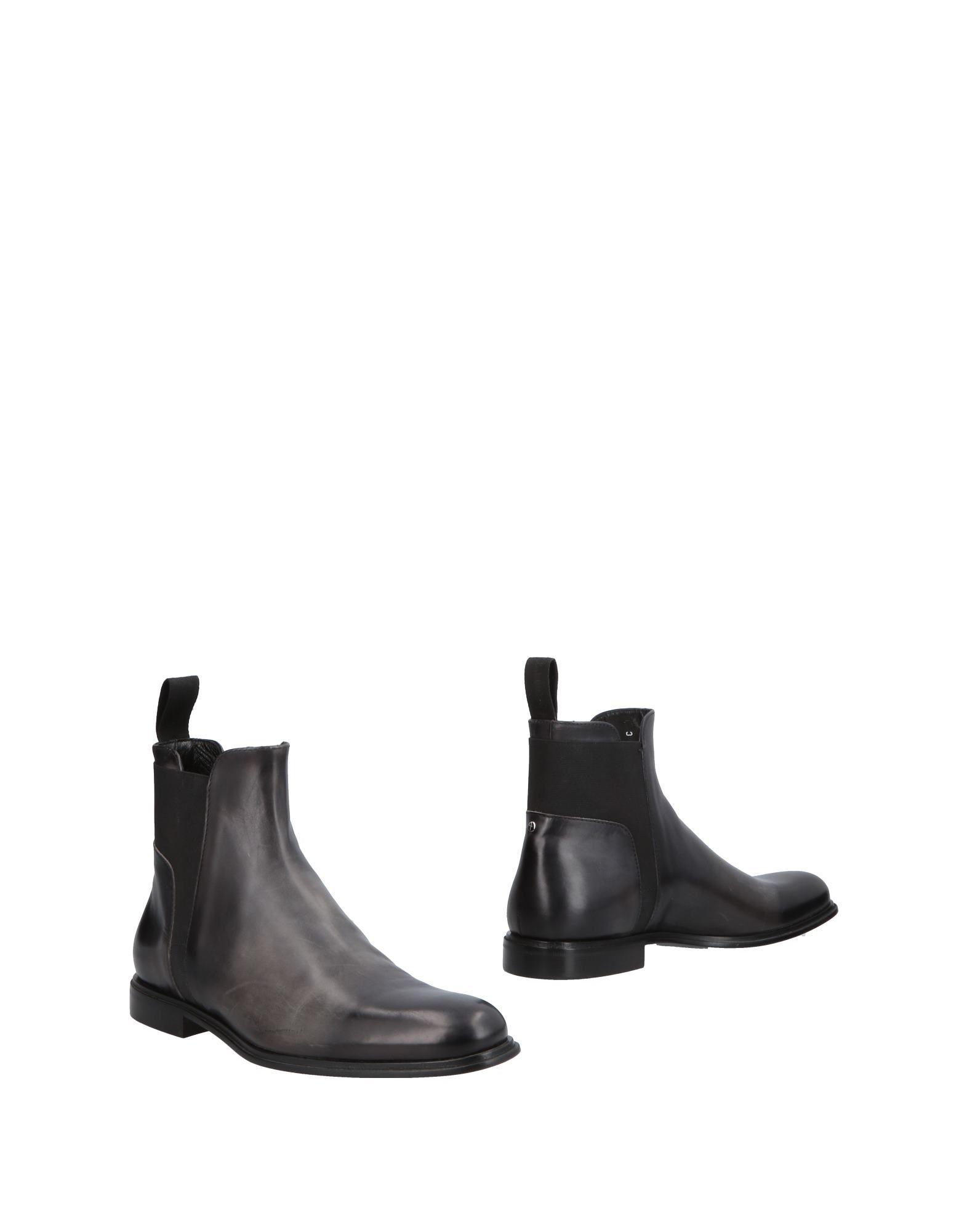 《送料無料》CESARE PACIOTTI メンズ ショートブーツ ブラック 9.5 革