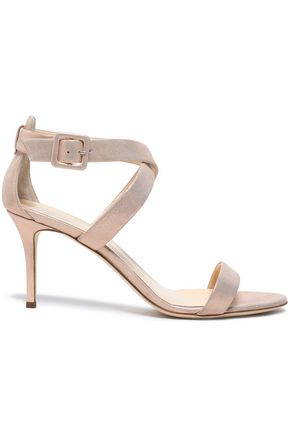 GIUSEPPE ZANOTTI Quilted patent-leather sandals