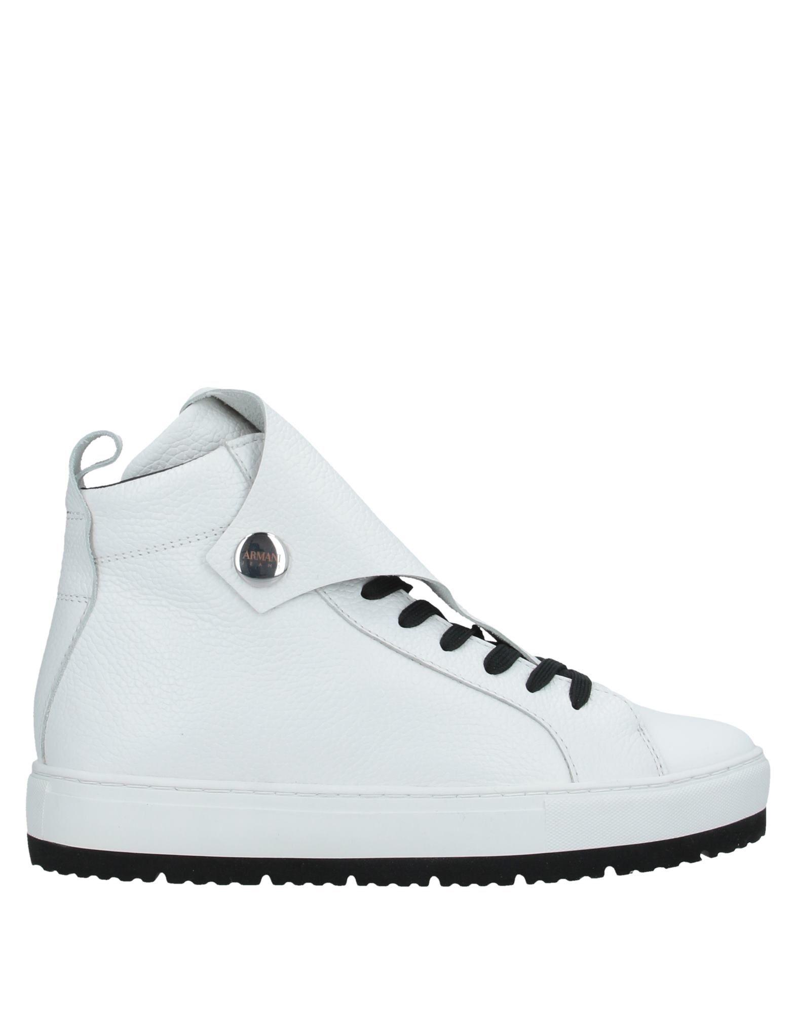 ARMANI JEANS Высокие кеды и кроссовки кроссовки armani jeans 925309 7a676 00020