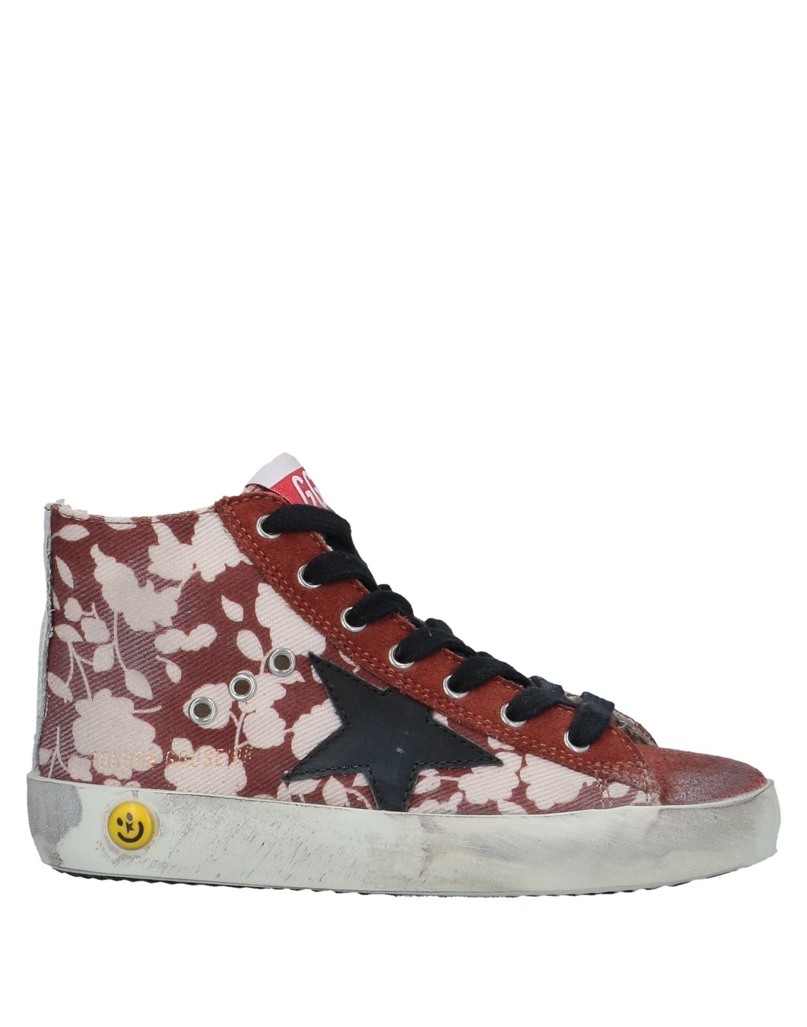 fe1225b3a golden goose deluxe brand calzado sneakers abotinadas on yoox.com ladrillo