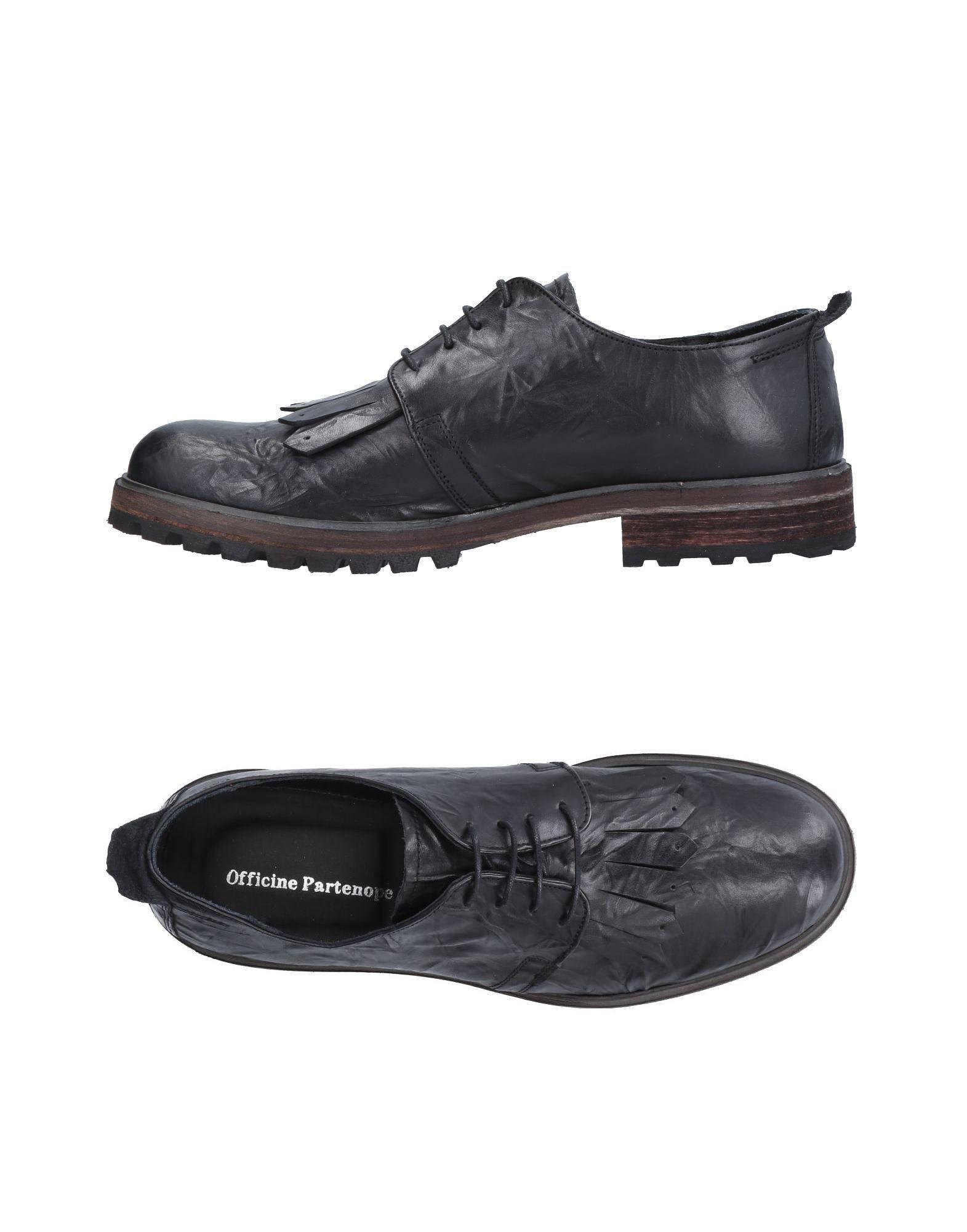 цена OFFICINE PARTENOPE Обувь на шнурках онлайн в 2017 году