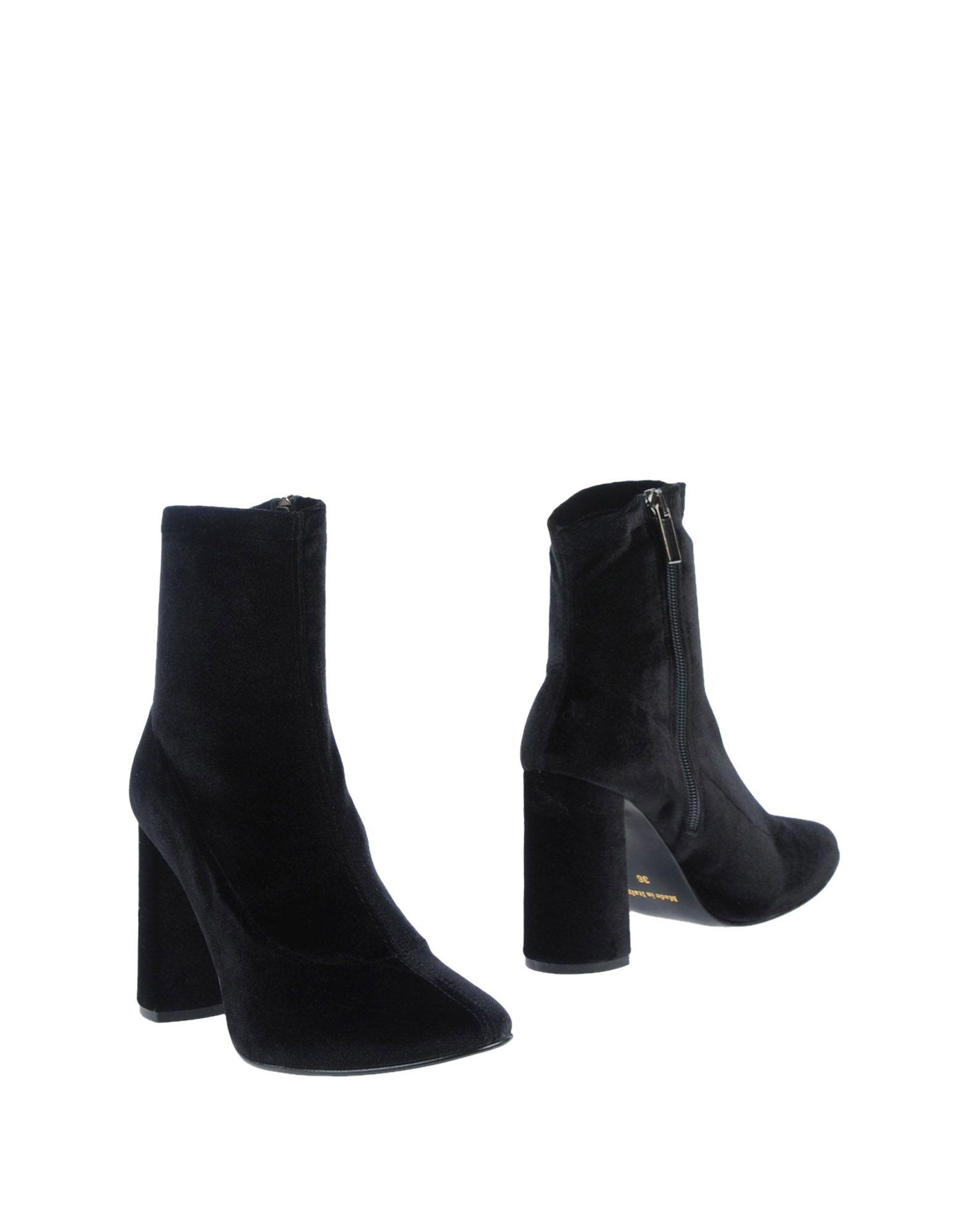 《送料無料》OSVALDO ROSSI レディース ショートブーツ ブラック 40 紡績繊維