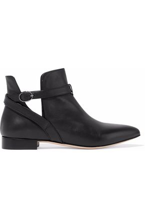 REDValentino Leather ankle boots