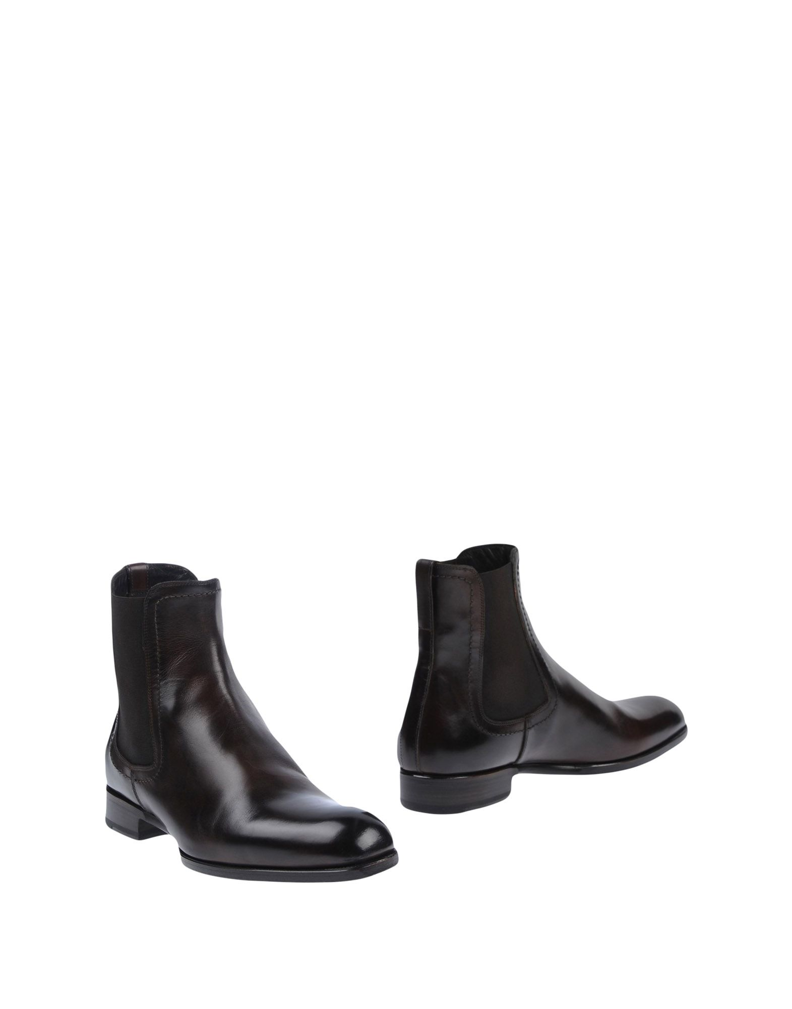 MAX VERRE Ankle Boots in Dark Brown