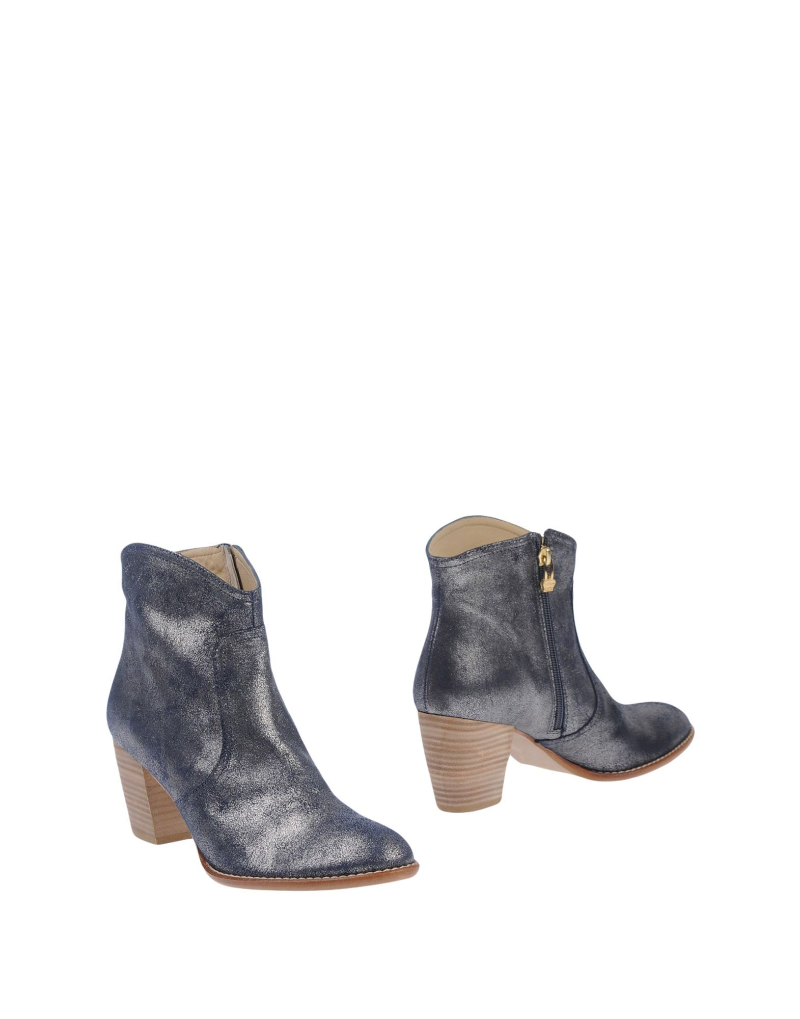 AUGUSTE Ankle Boot in Slate Blue