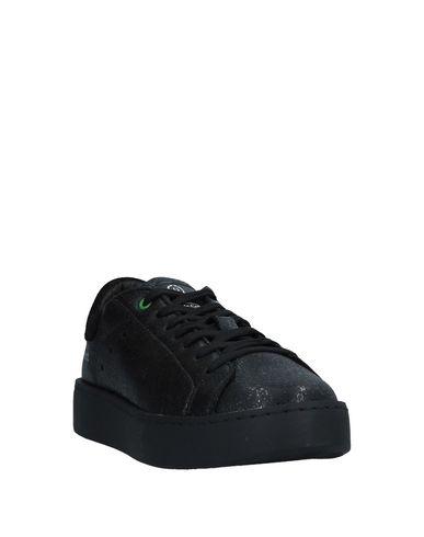 Фото 2 - Низкие кеды и кроссовки от WOMSH черного цвета
